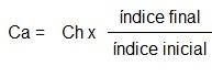 Ca = Ch