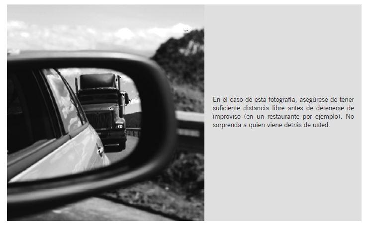 Gráfica 6. Atención a los vehículos que transitan detrás